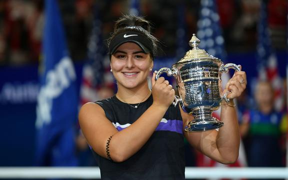 Bianca Andreescu wins the Women's US Tennis Open 2019.