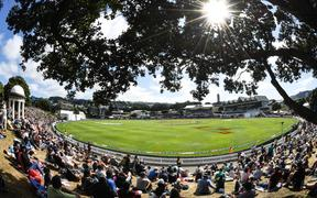 General view of the Basin Reserve 2020.
