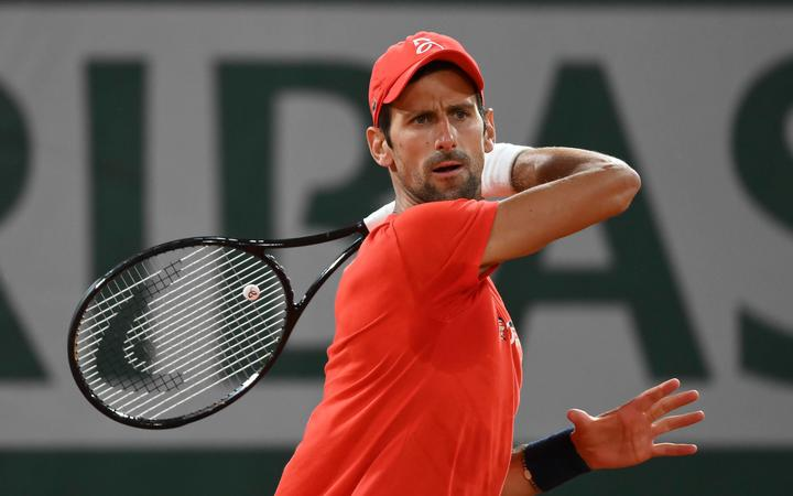 French Open tennis, Roland Garros 2020; Novak Djokovic , Serbia