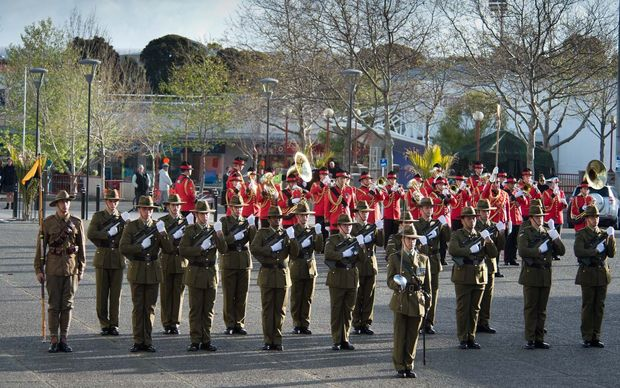 Queen Alexandra's Mounted Rifles at Linton Military Camp on its official birthday, 16 September 2014.
