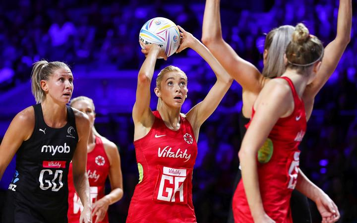 England v New Zealand 2019 Netball World Cup.