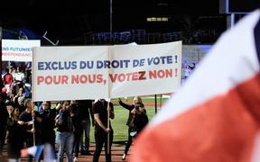 French citizens want full voting rights in New Caledonia