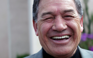 Winston Peters after voting in Auckland.