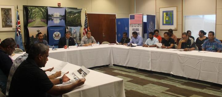 Fijian kava stakeholders discuss ways they can meet the US market demand.