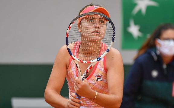 American tennis player Sofia Kenin.