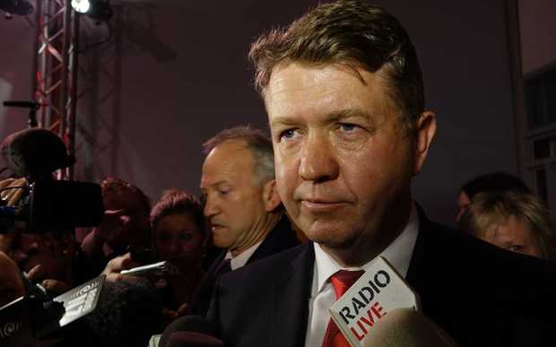 David Cunliffe thanked supporters and said he had congratulated John Key.