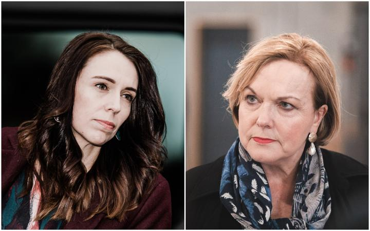 Jacinda Ardern and Judith Collins