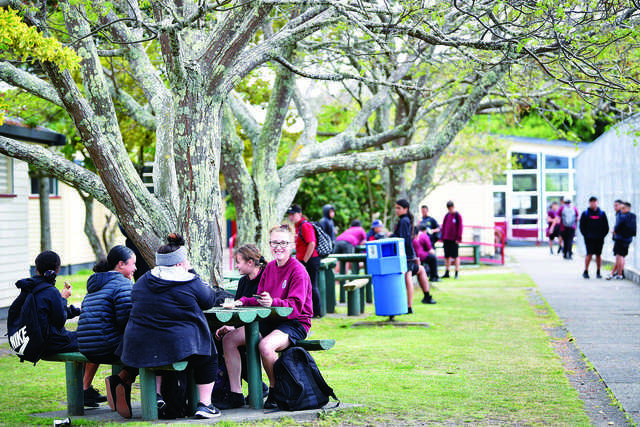There are about 330 students from Years 9 to 13 across five schools on the East Coast.