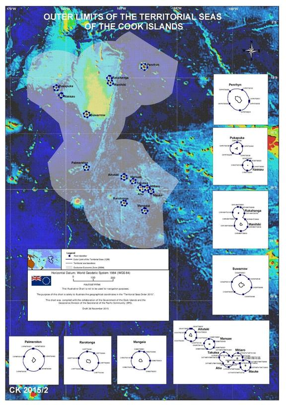 Territorial seas of the Cook Islands