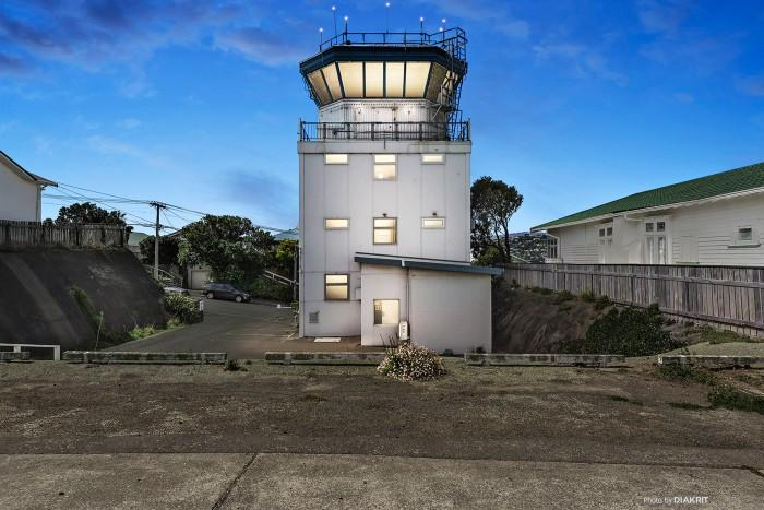 It is thought to be the only air traffic control tower with a residential address.