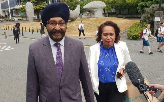 National's Kanwaljit Singh Bakshi (left) and Agnes Loheni are both now out of Parliament.
