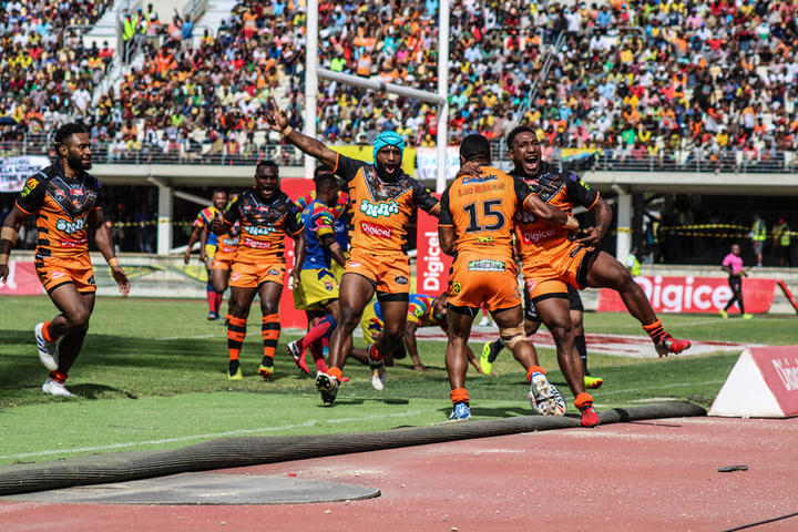 2020 runners-up Lae Snax Tigers won the Digicel Cup title in 2016, 2017 and 2019.