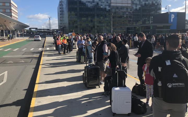 Wellington Airport evacuation