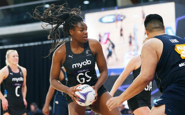 Shooter Grace Nweke shapes as having a long term future in the Silver Ferns as the side's re-builds after their world championship success in Liverpool in 2019.