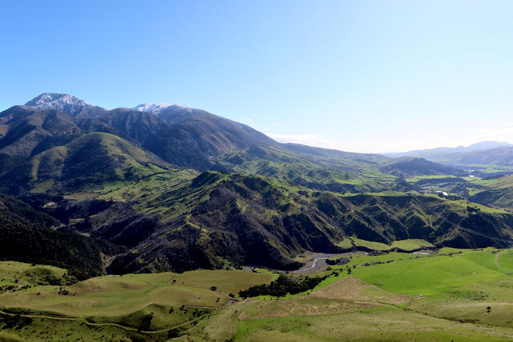 The Awatere Valley is one of 10 management units looked after by the South Marlborough Landscape Restoration Trust.