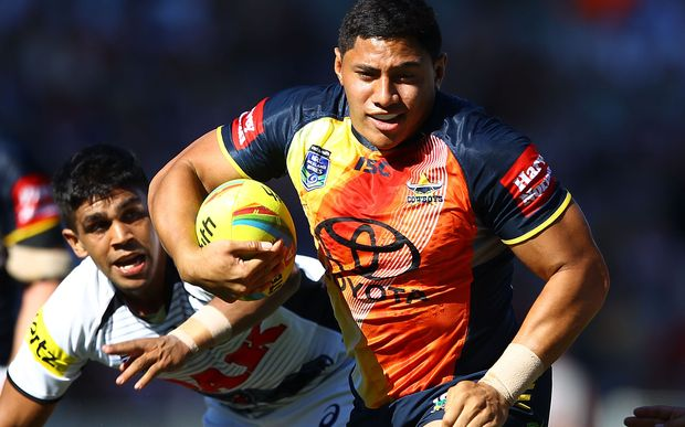 North Queensland forward Jason Taumalolo has been added to the Kiwis training squad.