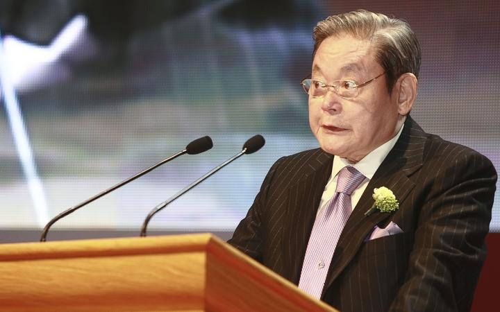 (FILE IMAGE) Lee Kun-Hee of Former Samsung Group Chairman.Lee Kun-Hee, dies at 78. .   (Photo by Seung-il Ryu/NurPhoto)