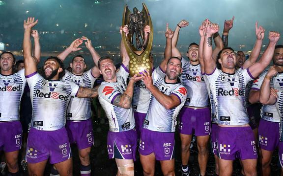 墨尔本风暴队在悉尼的总决赛中以 26-20 击败彭里斯黑豹队,捧起了 2020 年英超联赛的最高奖杯。