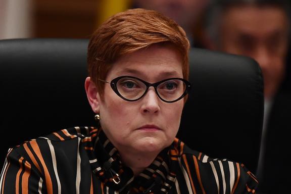 Australis's Foreign Minister Marise Payne.