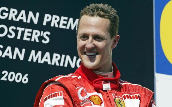 Michael Scumacher wins the 2006 San Marino Grand Prix 2006.