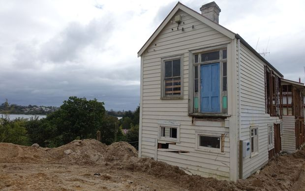 The house was demolished to make way for an office and residential building.