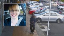 Lucy Knight (inset) and a CCTV image of a man police want to speak to.