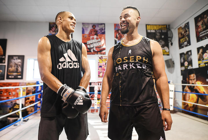 Amateur light heavyweight boxer David Nyika joins New Zealand professional heavyweight boxer Joseph Parker in camp ahead of the 'Fight of the Century'.