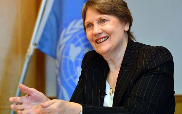 Helen Clark moved on from Labour after its defeat and now heads the UN's Development Programme.