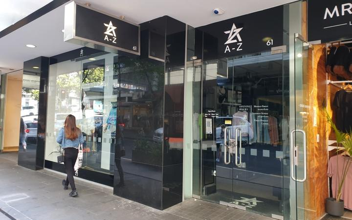 A-Z Collection clothing store in central Auckland.