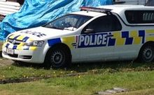 The crash scene in Greymouth in January.