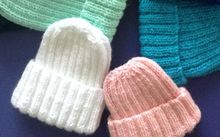 beanies knitted by prisoners