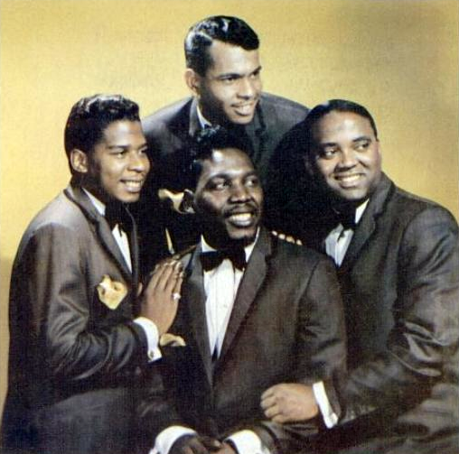 The Drifters, in 1964. The band formed in 1953.