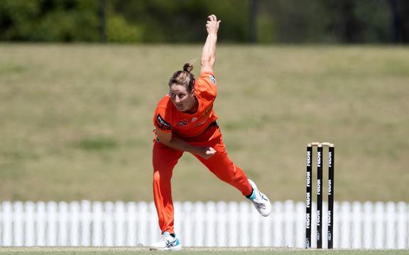 Sophie Devine of the Perth Scorchers.