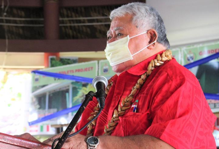 Samoa PM Tuilaepa Sailele Malielegaoi.
