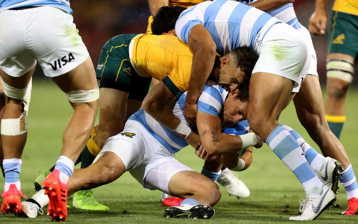 Gonzalo Bertranou. Australia v Argentina. 2020