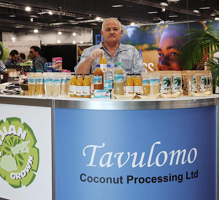 Chris Wyllie from Tavulomo Coconut Processing Ltd