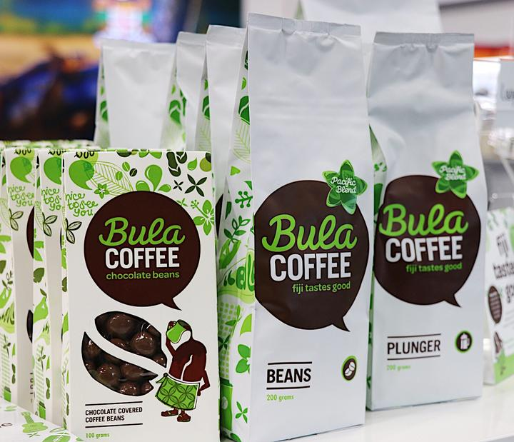 Bula Coffee from Fiji