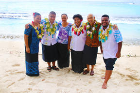 Participants of the Active Youth Participation in Community Development in Rotuma
