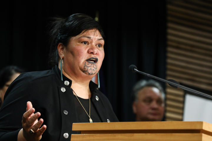Labour MP Nanaia Mahuta, Minister of Foreign Affairs, and Local Government