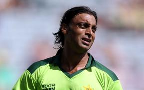 Pakistan cricket great Shoaib Akhtar.