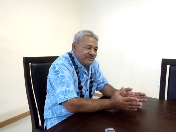 The head of the livestock division within Samoa's agriculture ministry, Leota Laumata