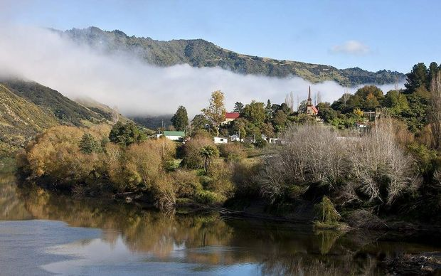 Jerusalem, home to the Sisters of Compassion, on the banks of the Whanganui River.