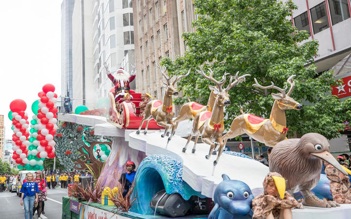 The Farmers Santa Parade 2017 held in Auckland CBD 26 November 2017