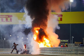 French driver Romain Grosjean had a miraculous escape from a fiery first-lap crash that ripped his car in two during the Formula 1 Gulf Air Bahrain Grand Prix 2020.