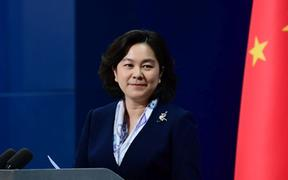 Hua Chunying, China's Foreign Ministry Spokesperson