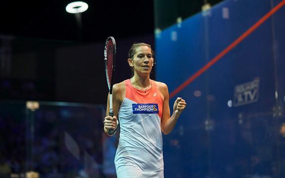 Giocatore di squash neozelandese Joel King.