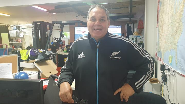 Phoenix Shipping manager Billy Preston handled the Yangtze Flourish's visit to Port Taranaki.