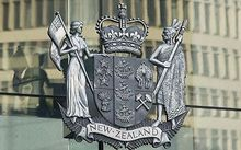 coat of arms - wellington high court -