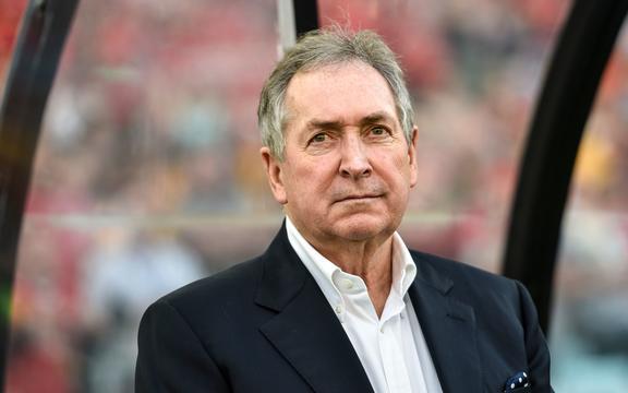 Liverpool Legend coach Gerard Houllier of France.