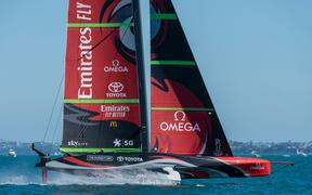 Emirates Team New Zealand Auckland 2020.